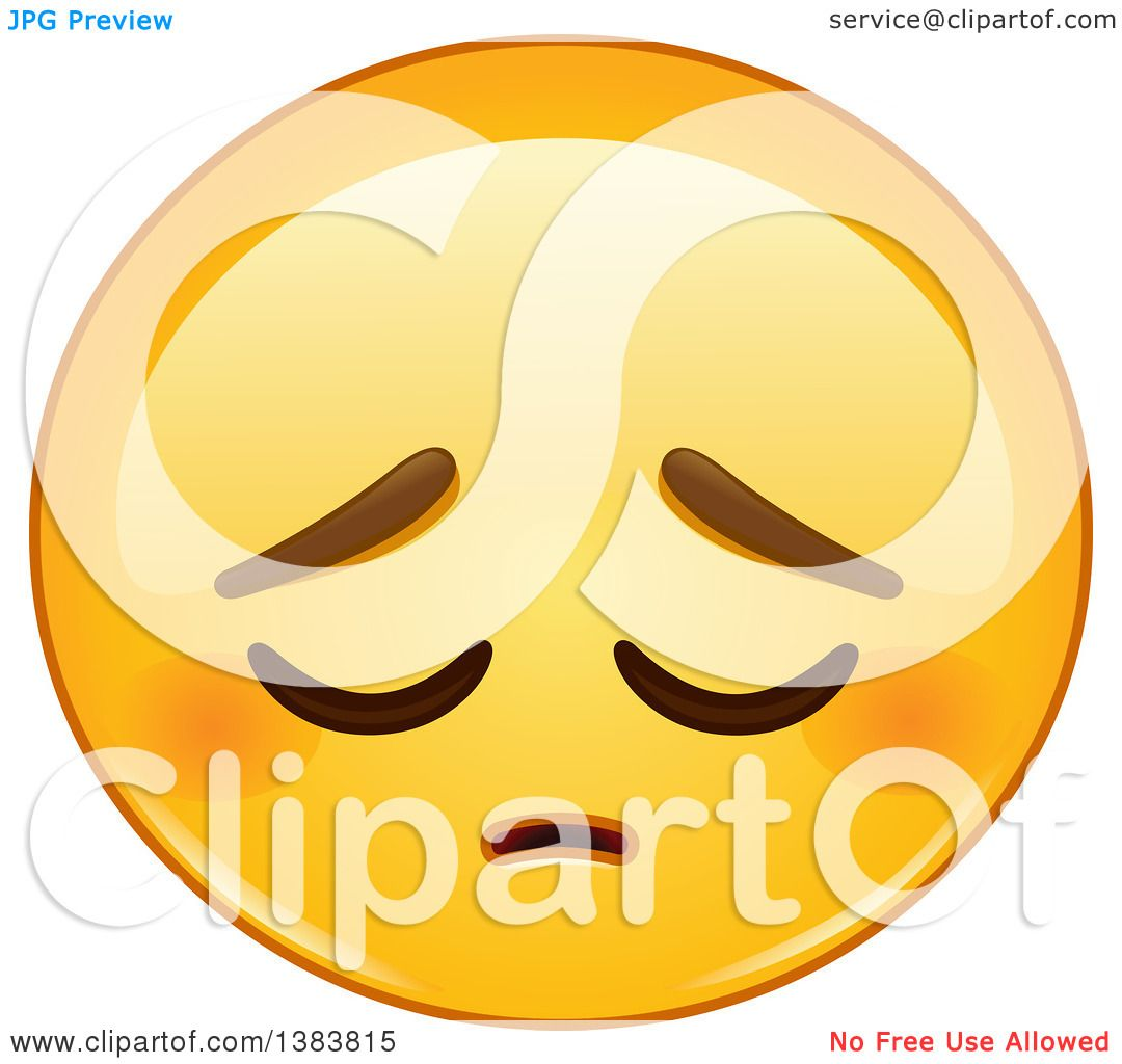Clipart of a cartoon pensive yellow emoji smiley face emoticon clipart of a cartoon pensive yellow emoji smiley face emoticon royalty free vector illustration by yayayoyo buycottarizona Choice Image