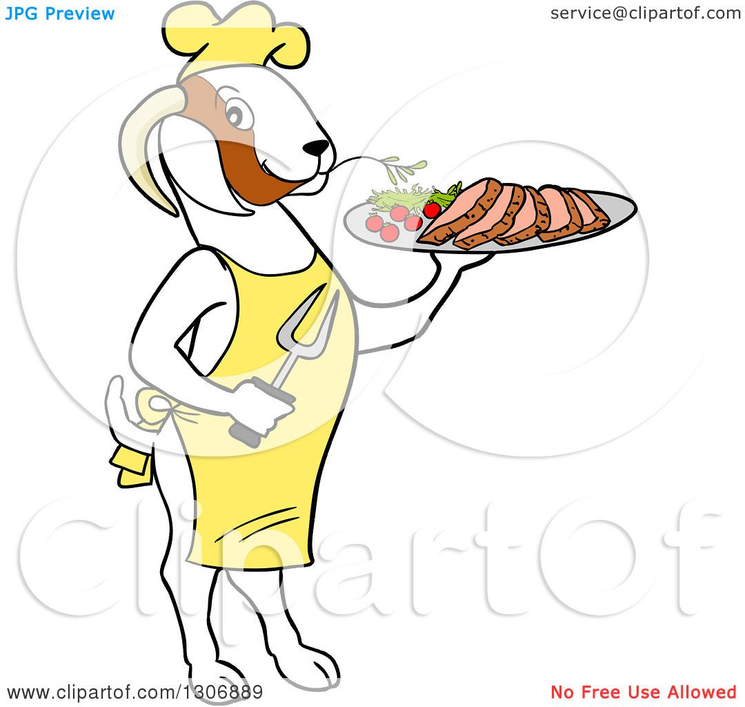 White apron meats