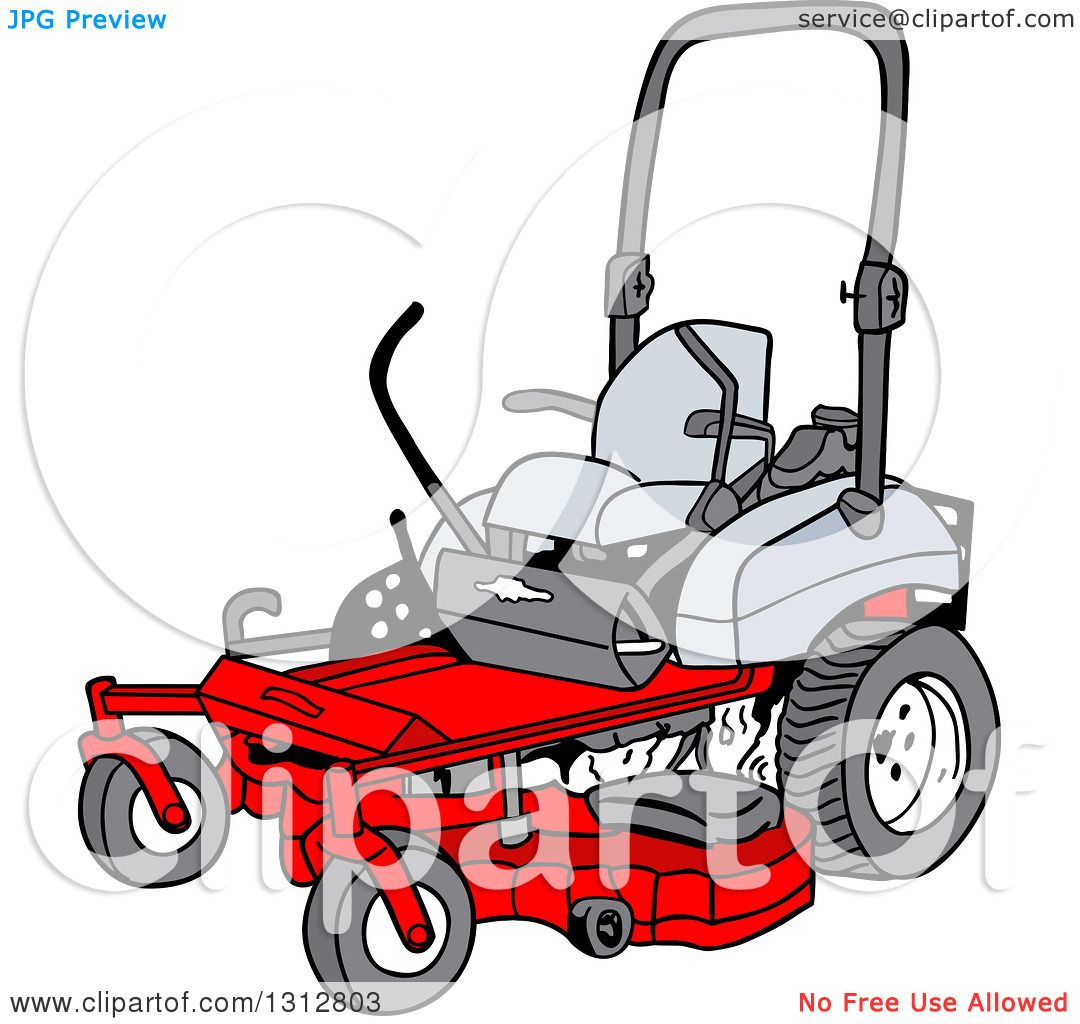 Clipart of a cartoon red riding lawn mower royalty free vector clipart of a cartoon red riding lawn mower royalty free vector illustration by lafftoon publicscrutiny Image collections
