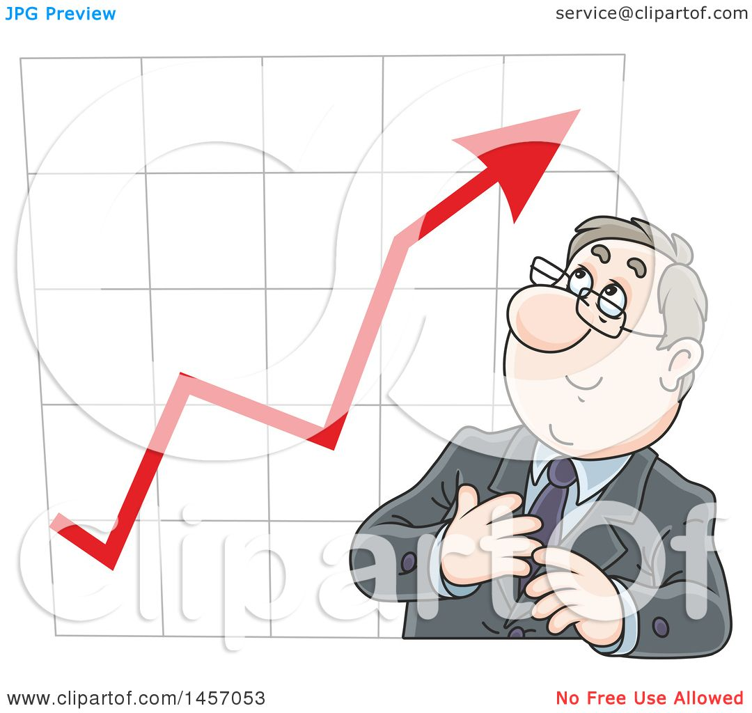Clipart of a cartoon white business man in front of a for Free clipart no copyright
