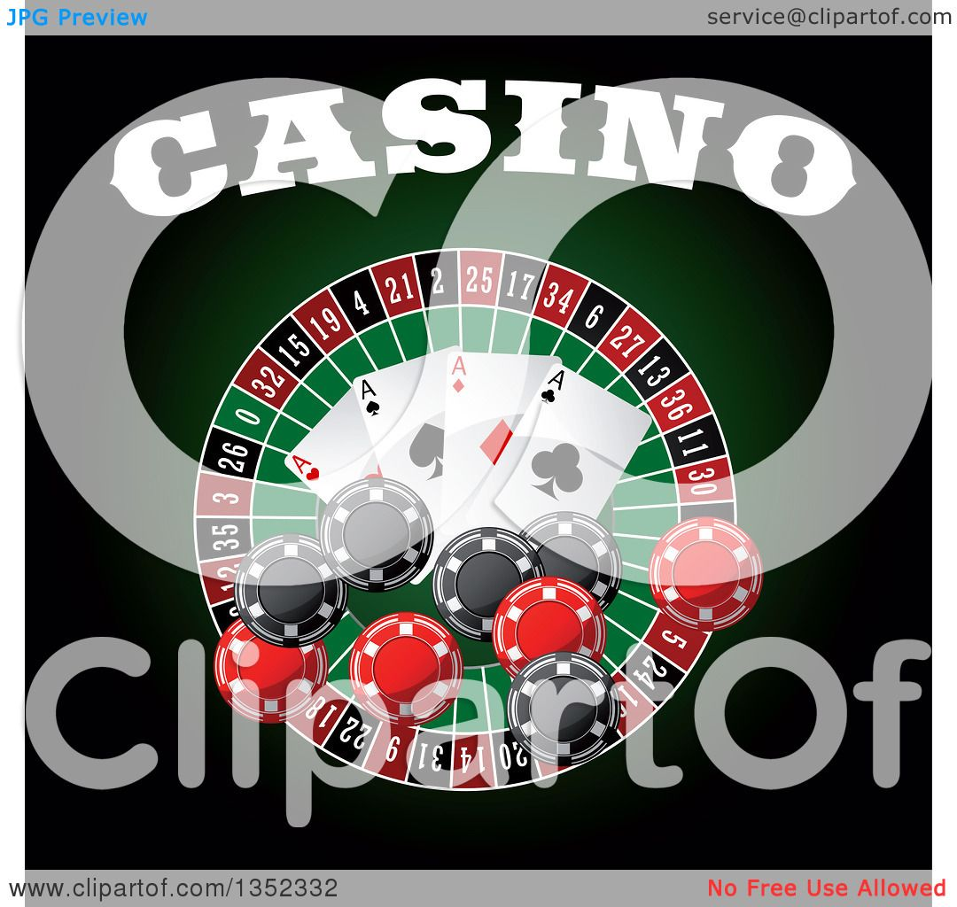 Anatomy of a roulette wheel / Poker labels