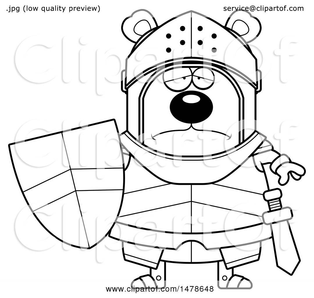 Sad Bear Clipart
