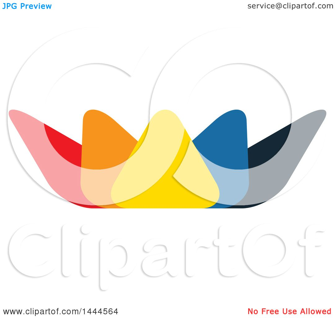 Clipart of a colorful lotus flower logo design royalty free vector clipart of a colorful lotus flower logo design royalty free vector illustration by colormagic izmirmasajfo