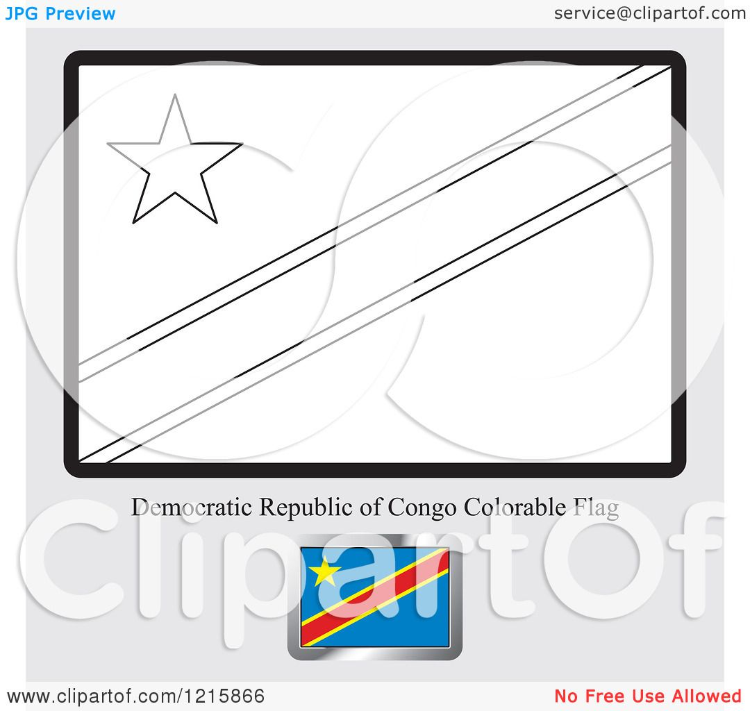 Azerbaijan flag coloring page coloring pages - Clipart Of A Coloring Page And Sample For A Democratic Republic Of