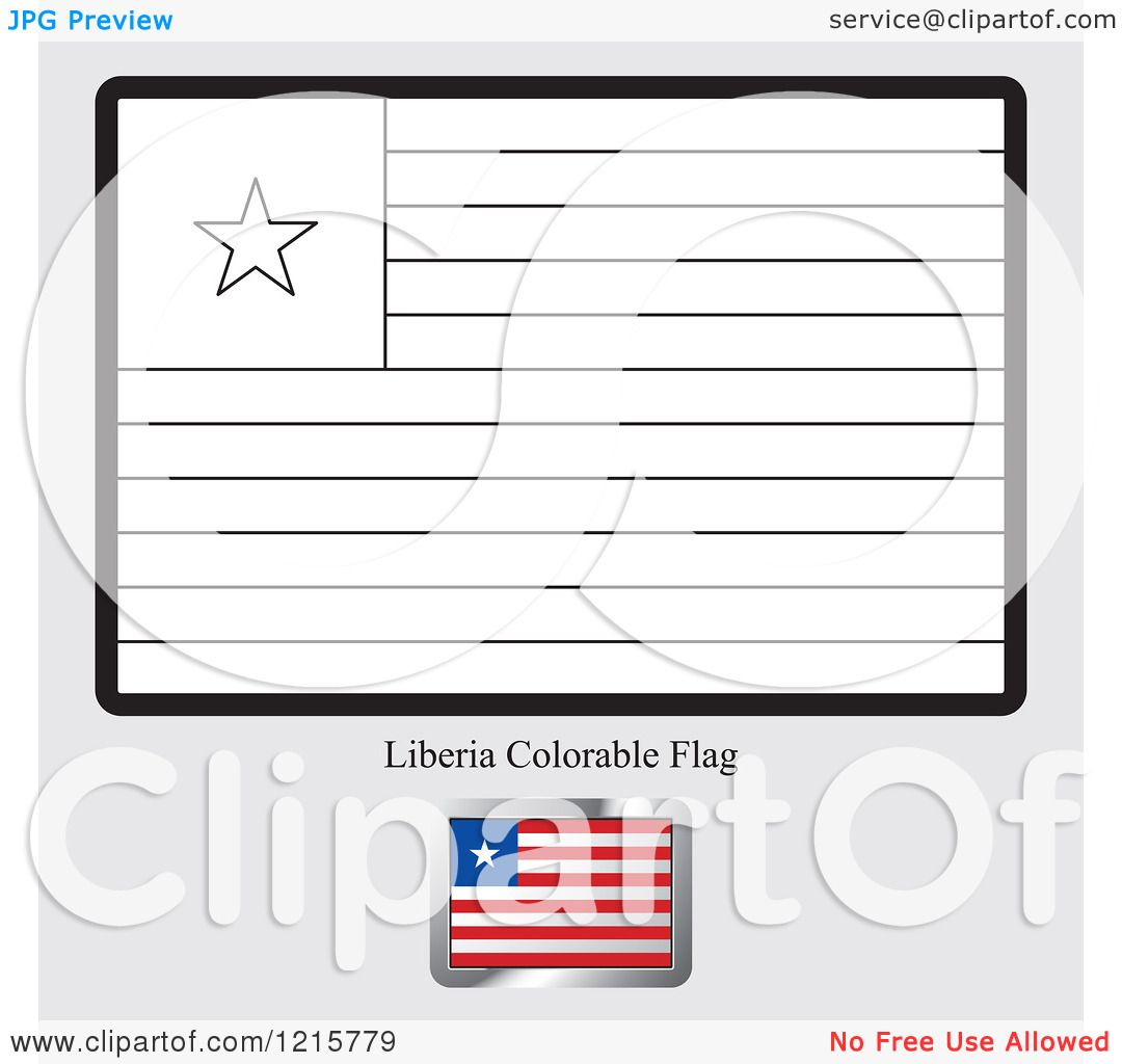 Liberia Coloring Pages