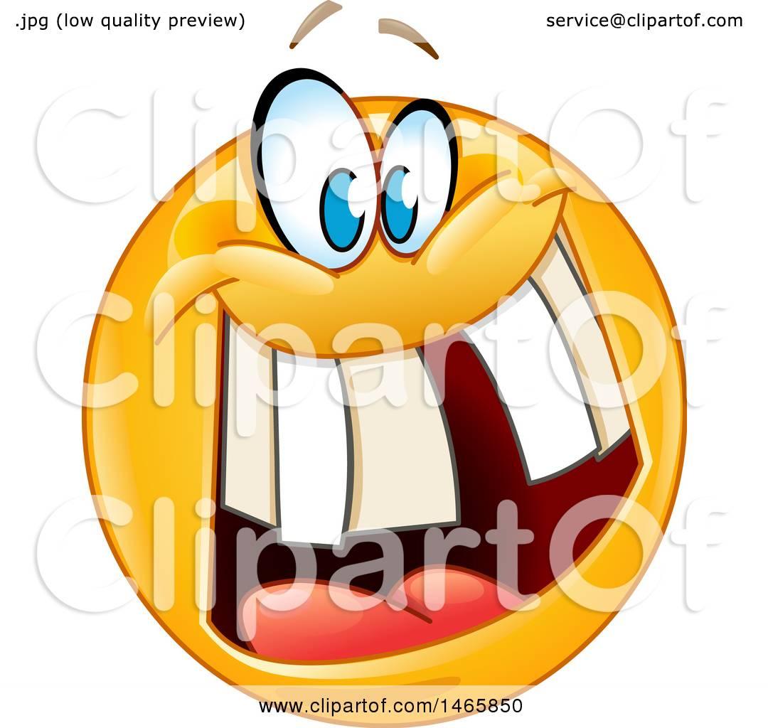 clipart of a crazy yellow emoji emoticon smiley face royalty free rh clipartof com Crazt Face Clip Art Crazy People Clip Art