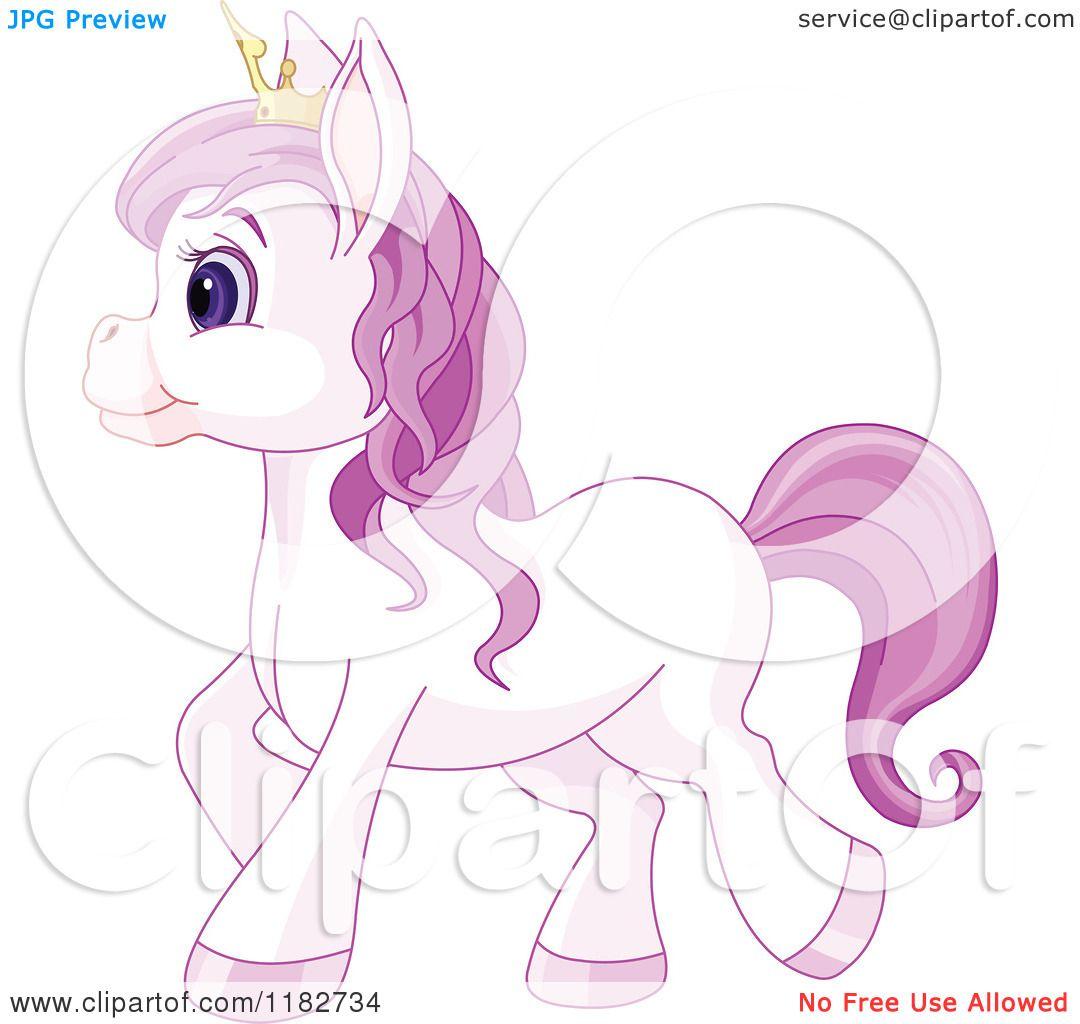 Purple Crown Clipart Clipart of a Cute Purple
