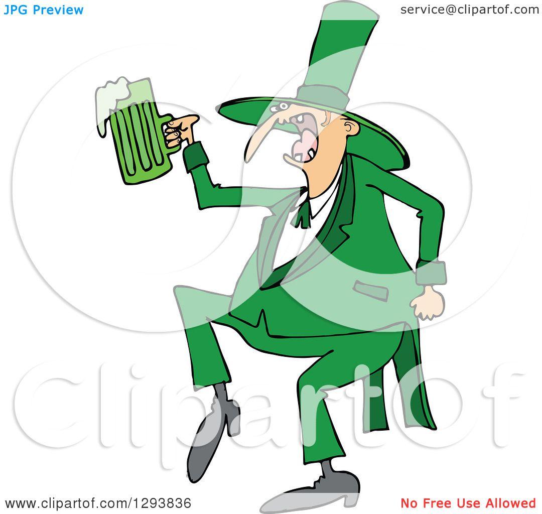 Irish Drunk as F*ck Shirt - Funny St. Pattys Day Tshirt
