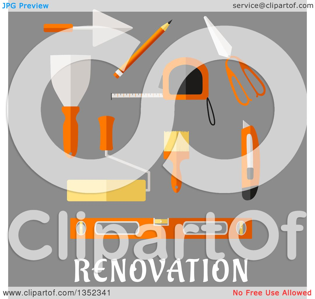 Flat Spatula Clip Art