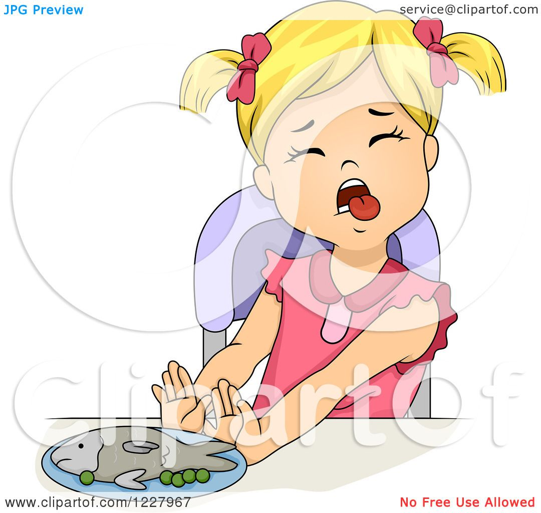 Clipart Of Girl Sticking Out Her Tongue