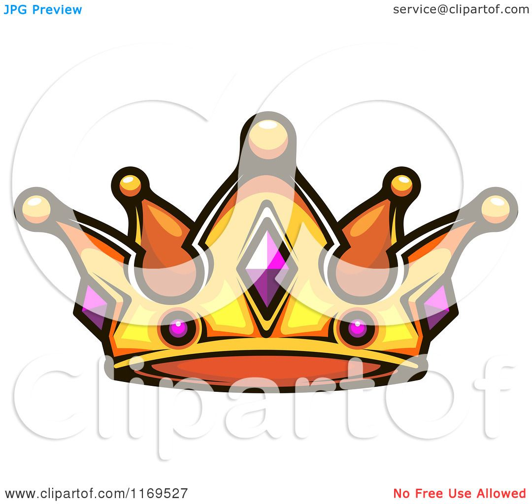 Gold Princess Crown Clipart Clipart of a Gold Crown