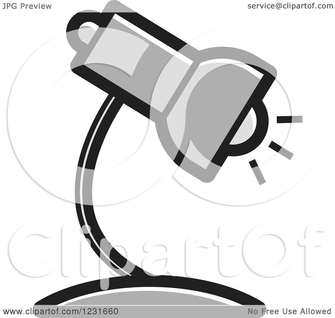 Royalty Free Desk Lamp Clip Art Vector Images