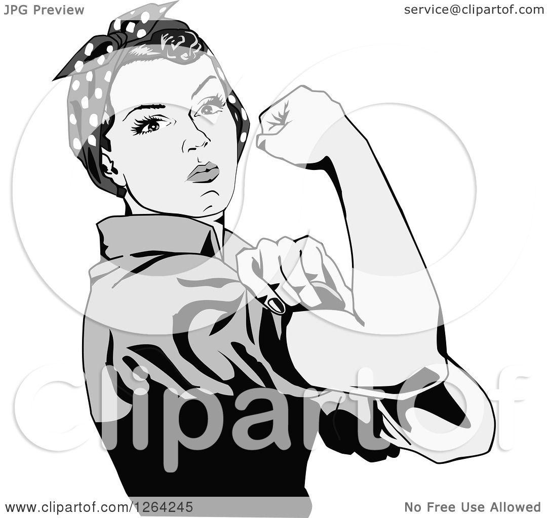 Rosie The Riveter Vector