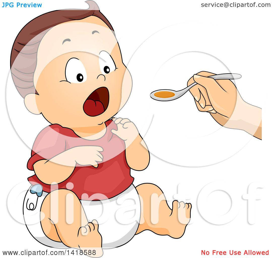 Baby Spoon Clip Art