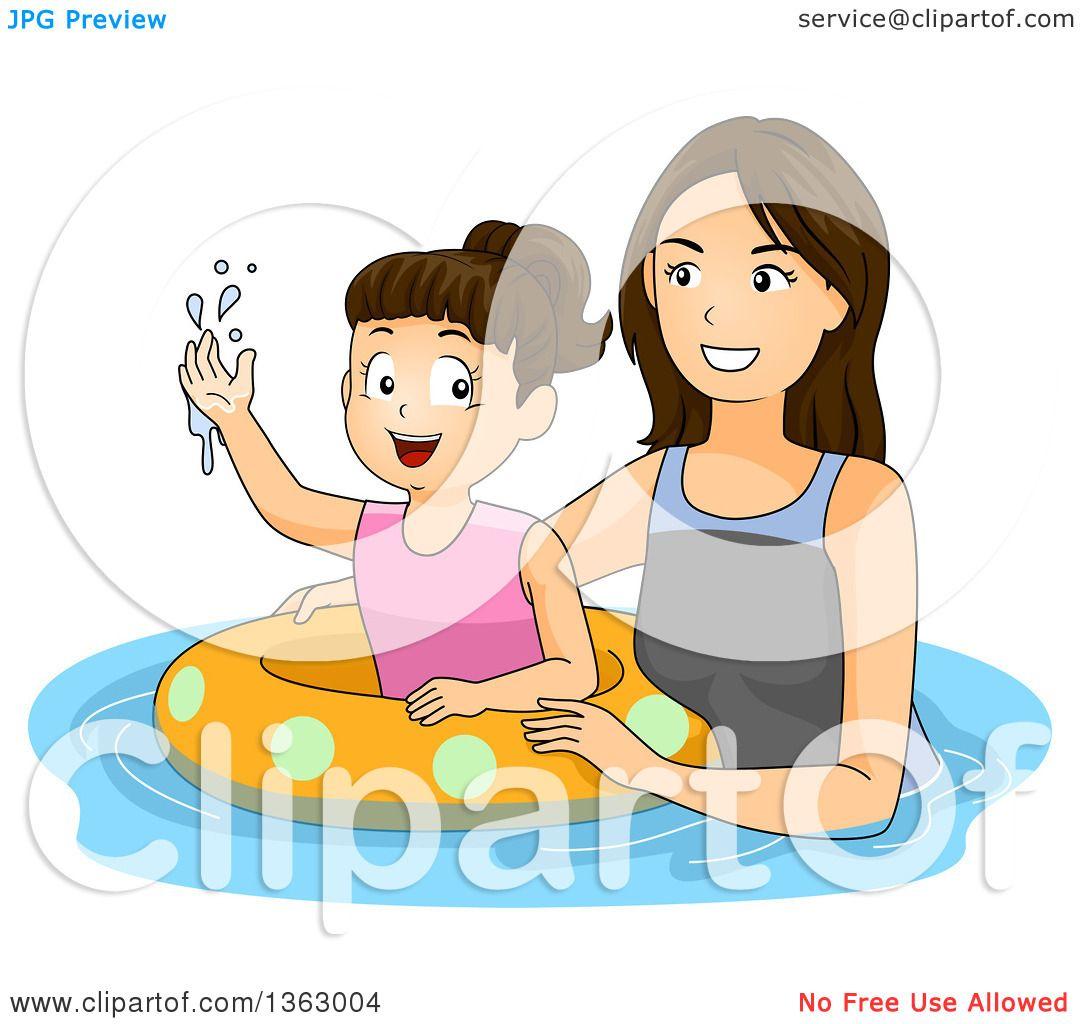 Mom Teaching Daughter Tubes