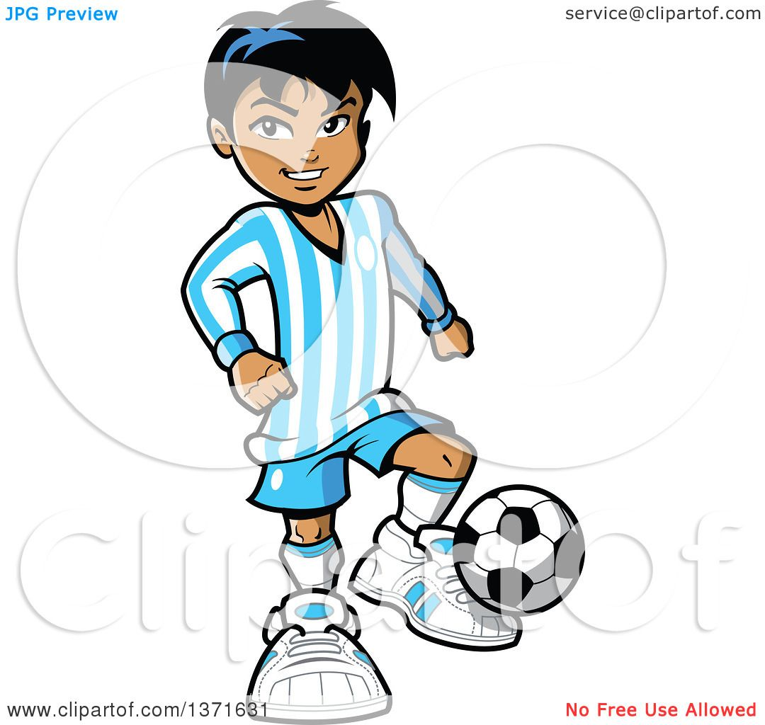 clipart of a hispanic boy playing soccer royalty free vector rh clipartof com hispanic culture clipart hispanic clipart pictures