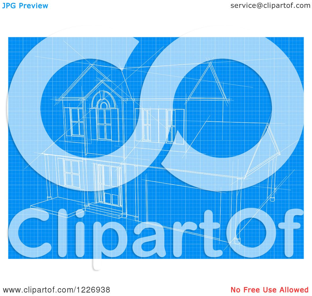 Clipart of a house blueprint page royalty free vector illustration clipart of a house blueprint page royalty free vector illustration by atstockillustration malvernweather Gallery
