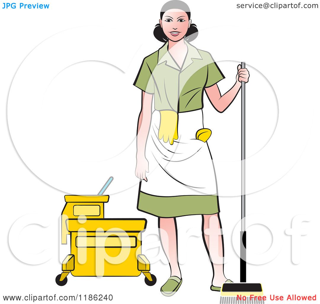 Female Janitor Clipart | www.pixshark.com - Images ...