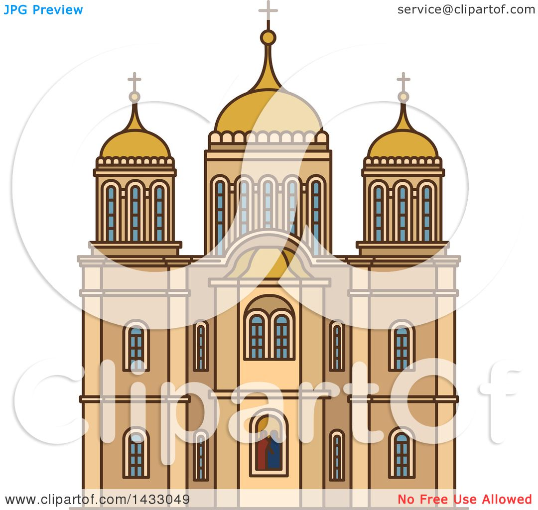 Line Drawing Jerusalem : Clipart of a line drawing styled israel landmark