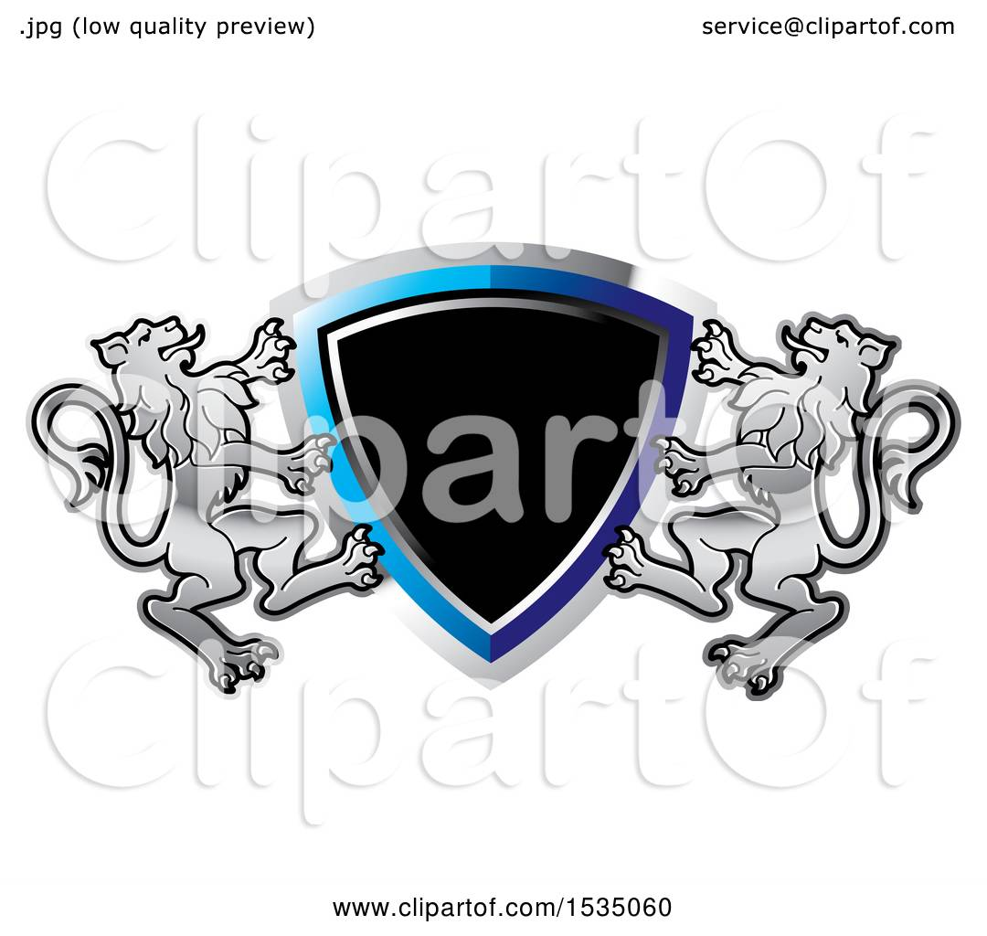clipart of a lion crest and shield royalty free vector rh clipartof com free vector christmas lights free vector creator