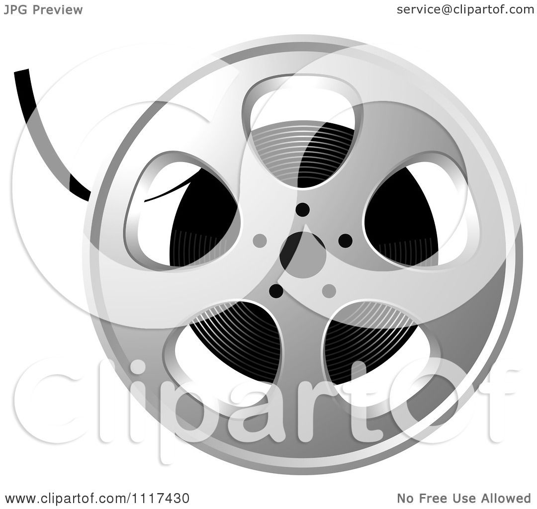 Clipart of a movie film reel royalty free vector illustration by clipart of a movie film reel royalty free vector illustration by lal perera altavistaventures Images