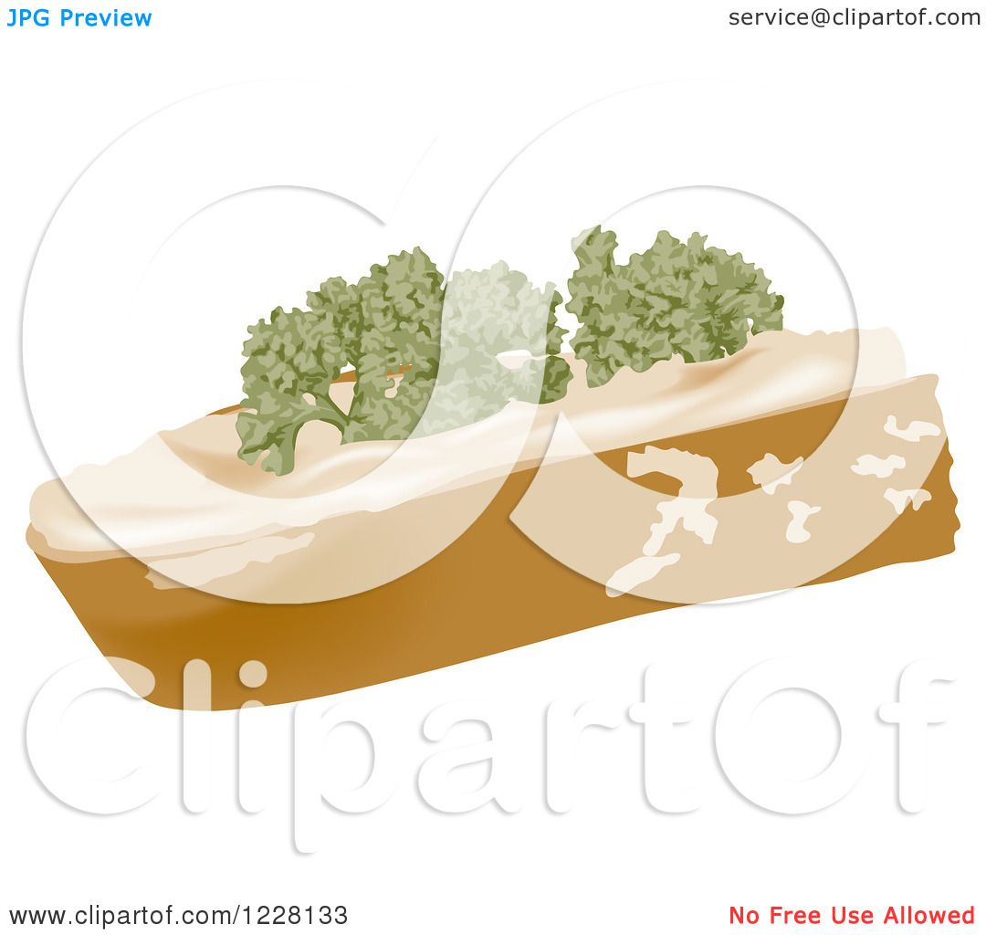 Slice of Bread Clipart Slice of Bread Outline Clipart