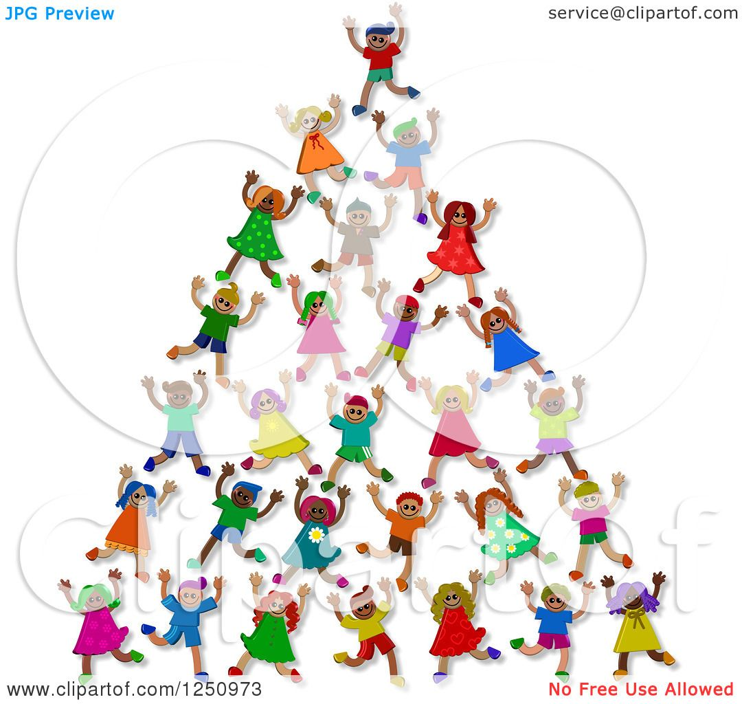 http://images.clipartof.com/Clipart-Of-A-Pyramid-Or-Tower-Of-3d-Diverse-Children-Royalty-Free-Illustration-10241250973.jpg