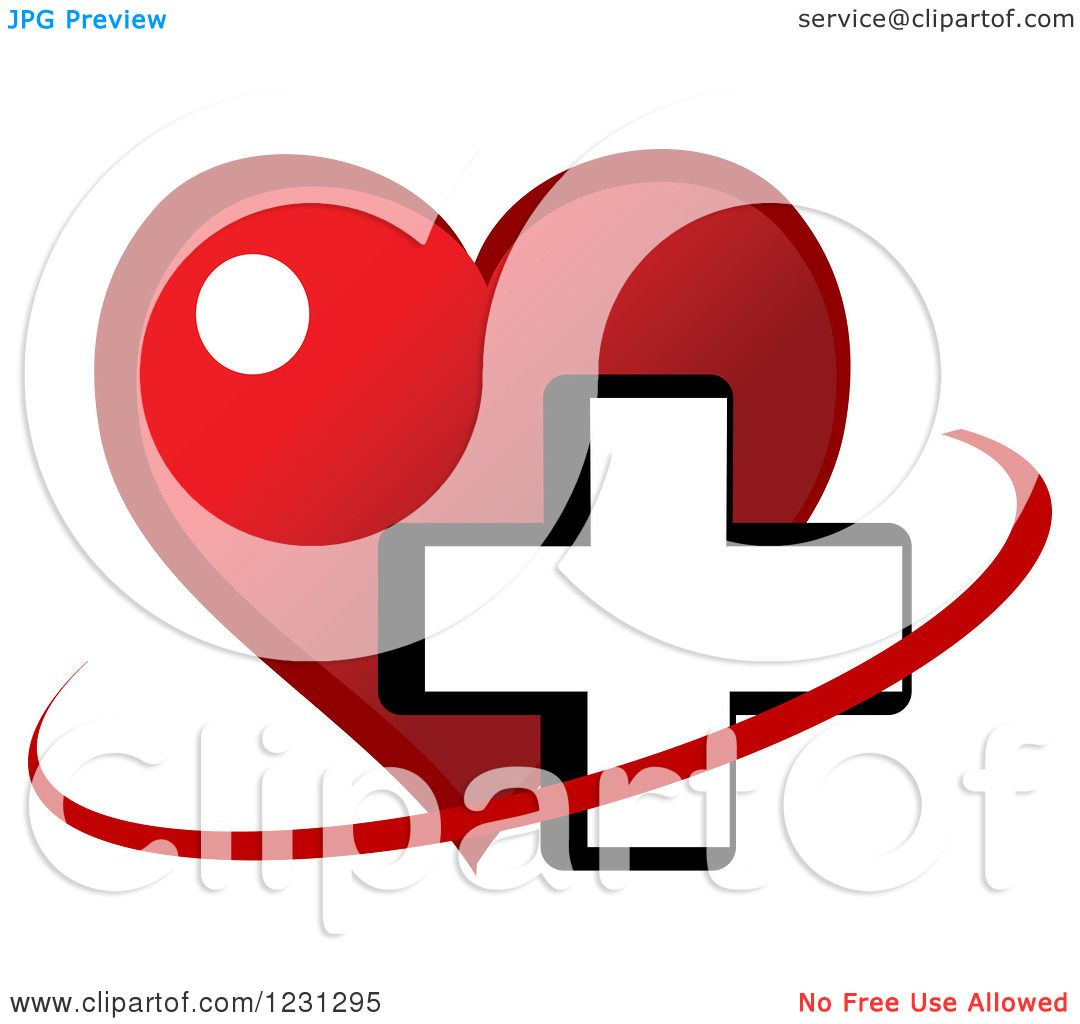 free cross and heart clipart - photo #47