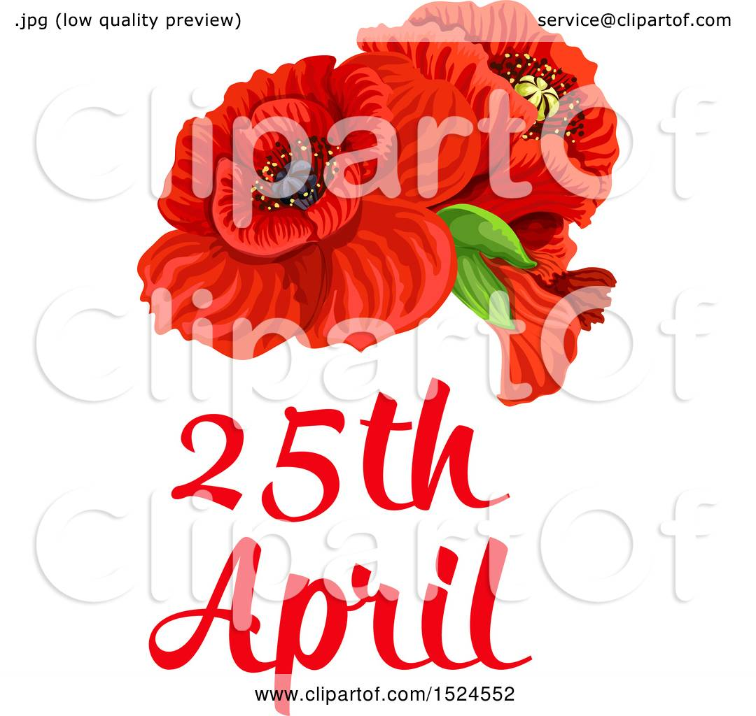 Clipart of a red poppy flower anzac day design royalty free vector clipart of a red poppy flower anzac day design royalty free vector illustration by vector tradition sm mightylinksfo