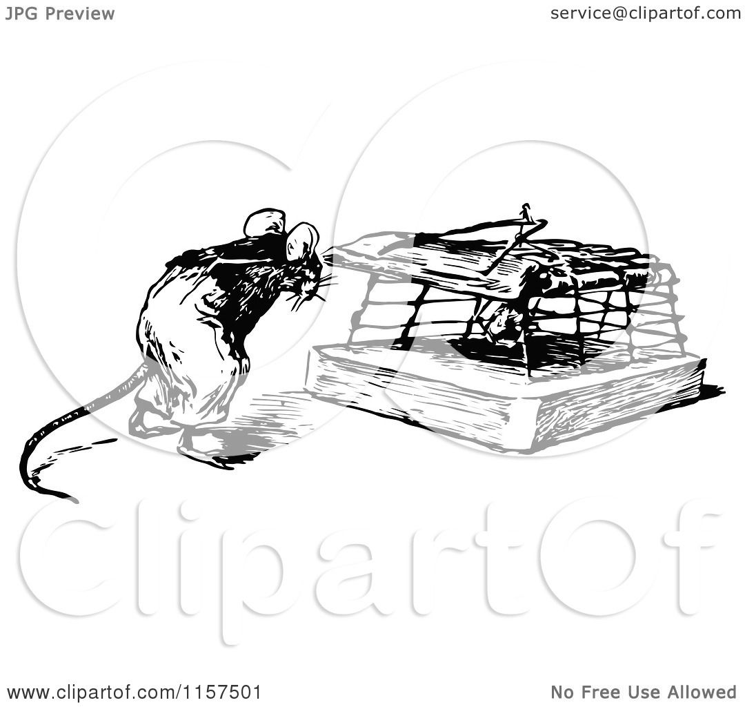 Image result for trapping a mouse clipart