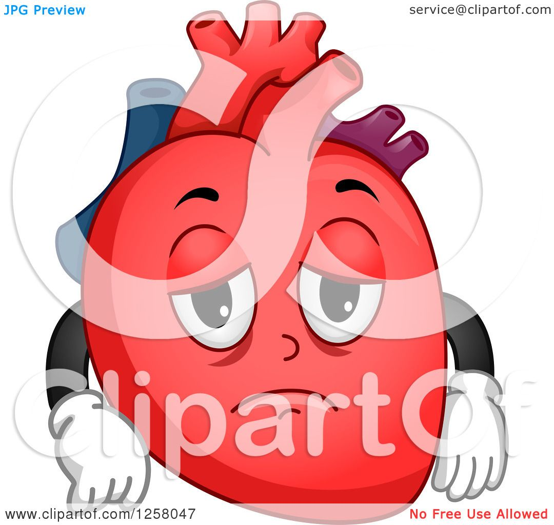 clipart of a human heart - photo #47