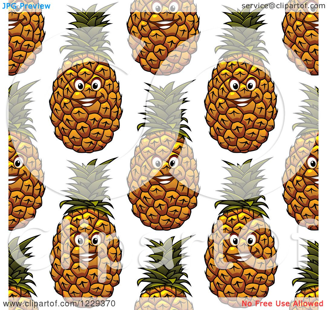 Amazing Wallpaper Macbook Pineapple - Clipart-Of-A-Seamless-Happy-Pineapple-Pattern-Background-Royalty-Free-Vector-Illustration-10241229370  Best Photo Reference_628957.jpg