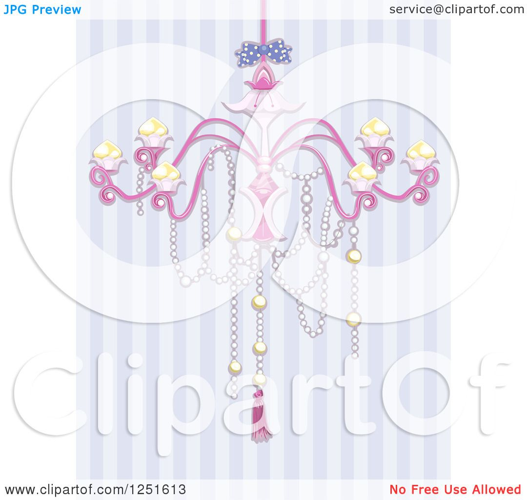 Clipart of a shabby chic chandelier over purple stripes royalty clipart of a shabby chic chandelier over purple stripes royalty free vector illustration by bnp design studio arubaitofo Gallery