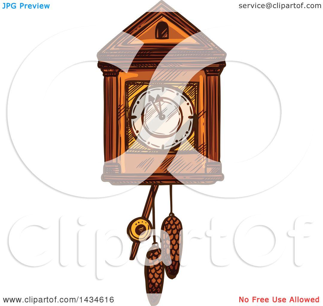 cuckoo clock clip art free - photo #27