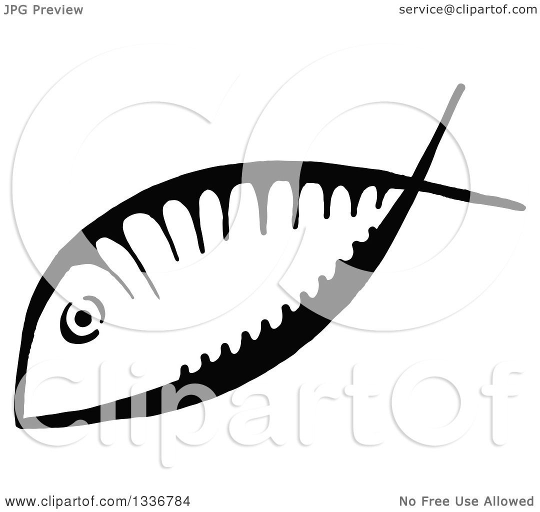 Clipart of a sketched doodle of a black and white ichthus christian clipart of a sketched doodle of a black and white ichthus christian fish royalty free vector illustration by prawny biocorpaavc Image collections