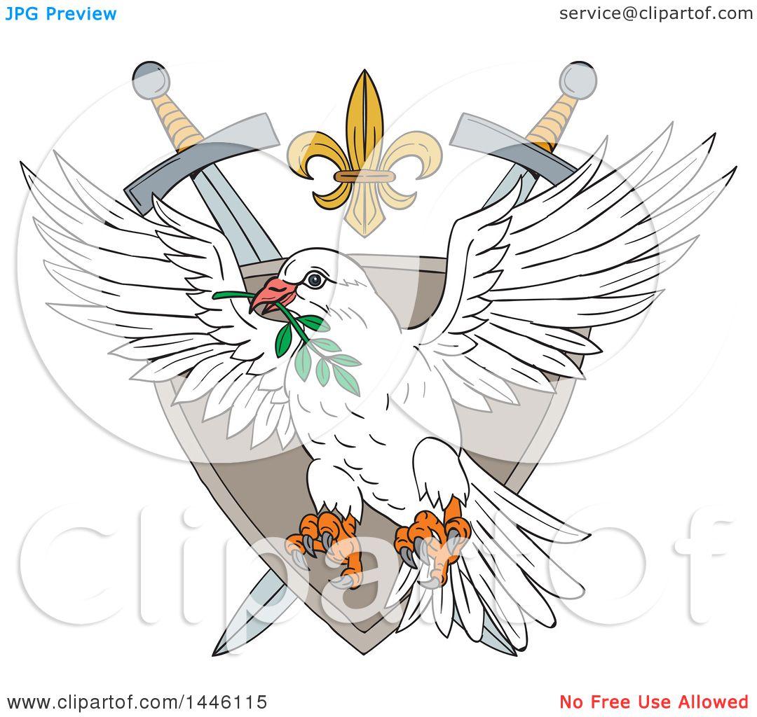 Peace Dove Clip Art
