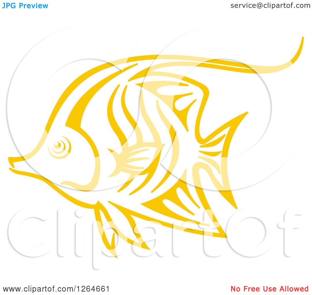 yellow tang coloring pages - photo #20