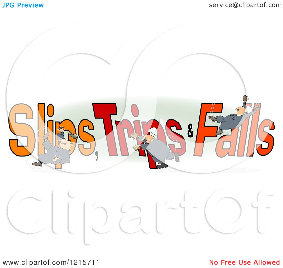 slip and fall clip art free - photo #28