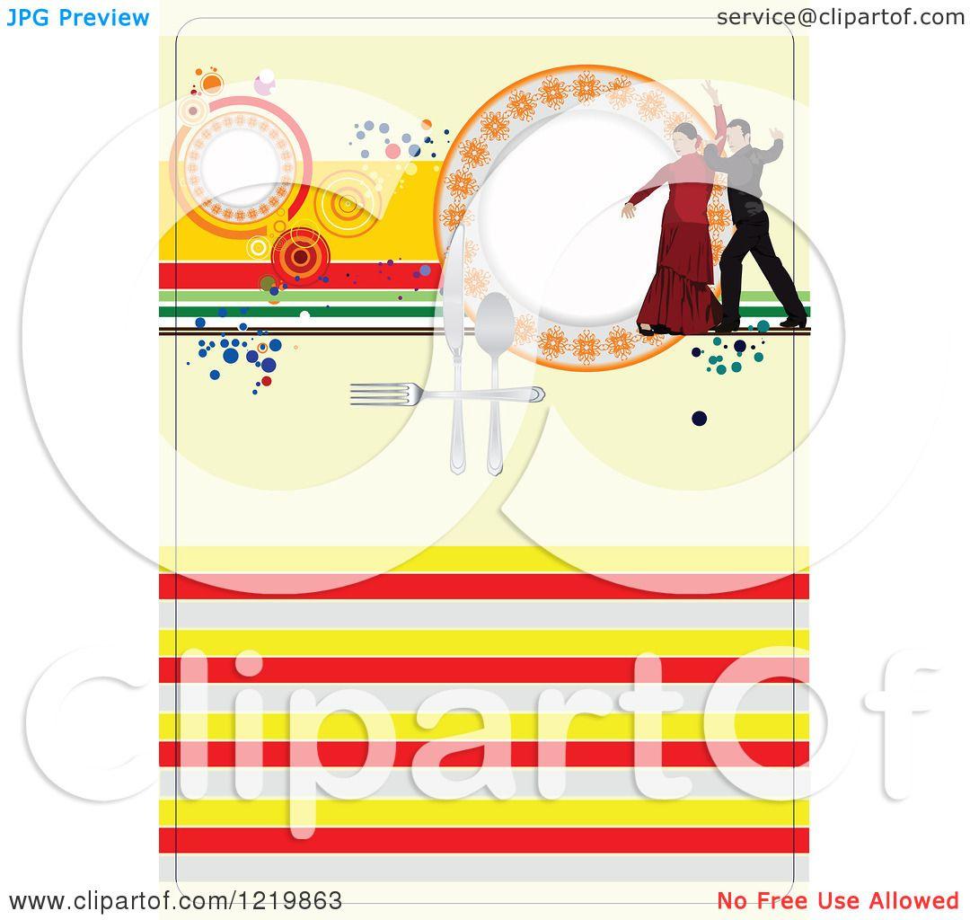 Spanish Restaurant Menu Cover a Spanish Restaurant Menu