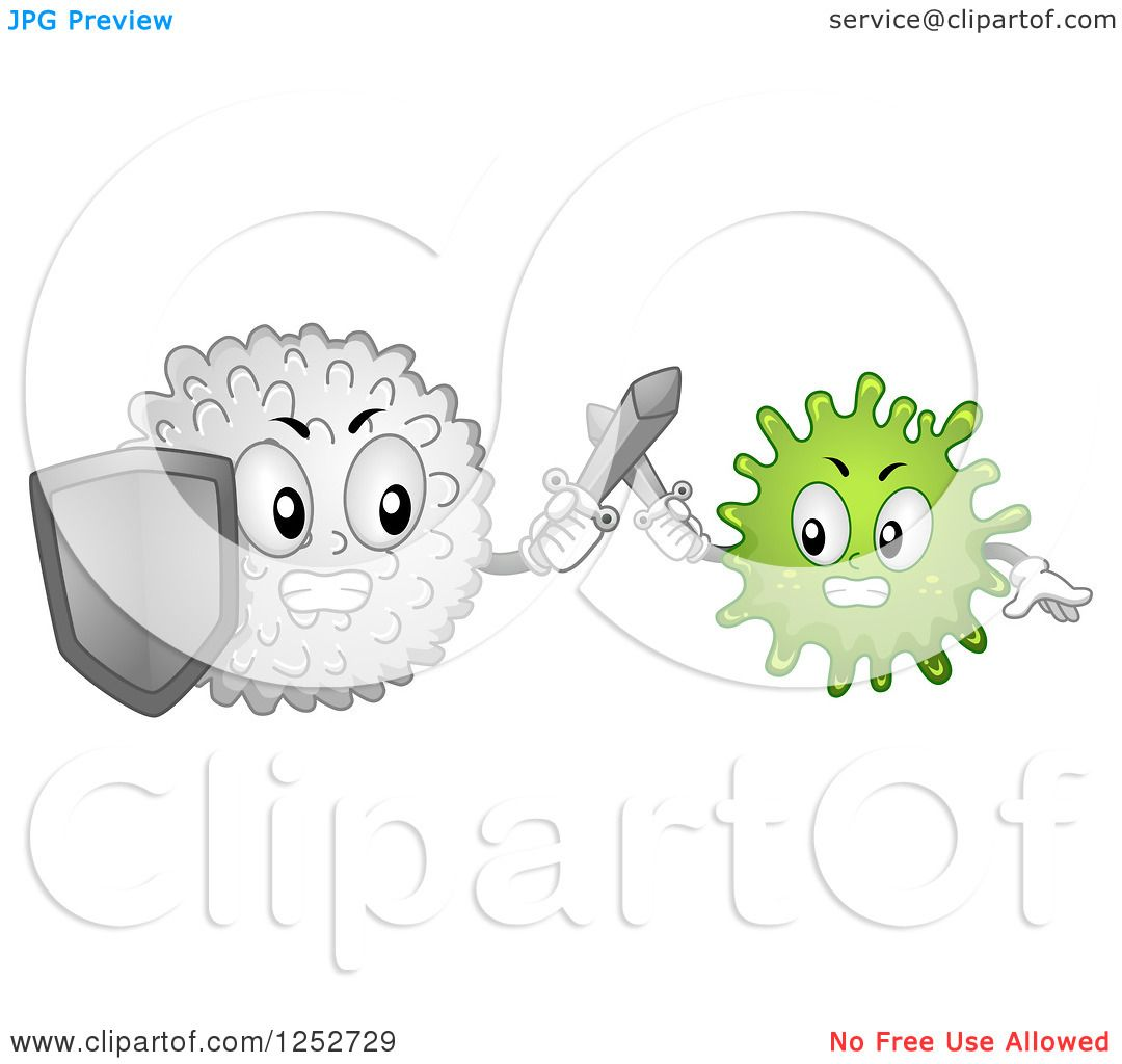 White Blood Cell Mascot/Mascot Illustration Featuring A White.. Royalty  Free Cliparts, Vectors, And Stock Illustration. Image 30121619.