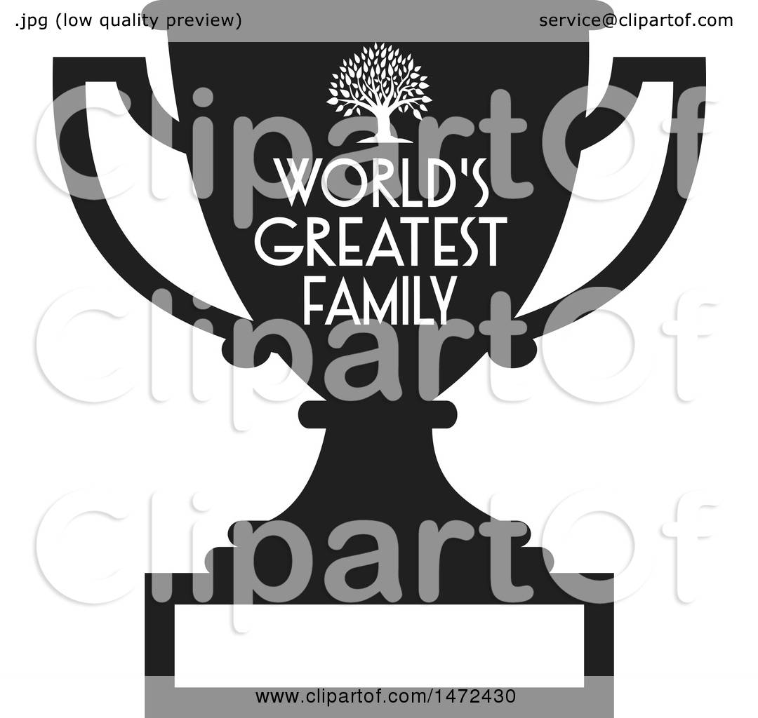 Superb Clipart Of A Tree And Worlds Greatest Family Text And Blank Download Free Architecture Designs Scobabritishbridgeorg