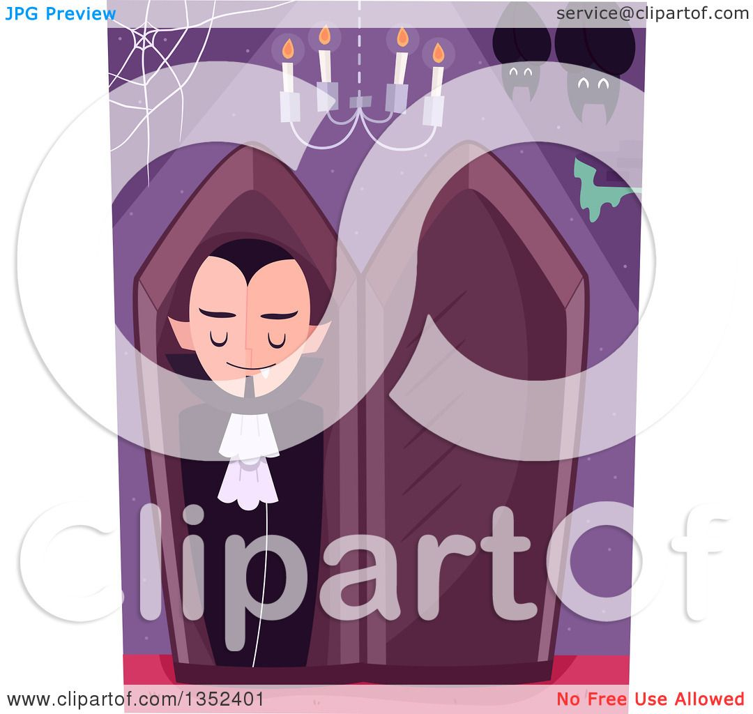 Clipart of a vampire in a coffin with bats and a chandelier clipart of a vampire in a coffin with bats and a chandelier royalty free vector illustration by bnp design studio arubaitofo Gallery