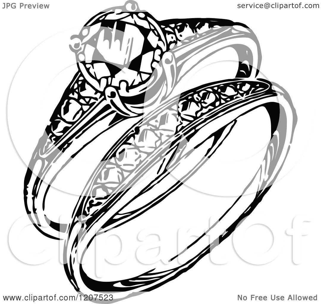 Engagement Ring Illustration Png