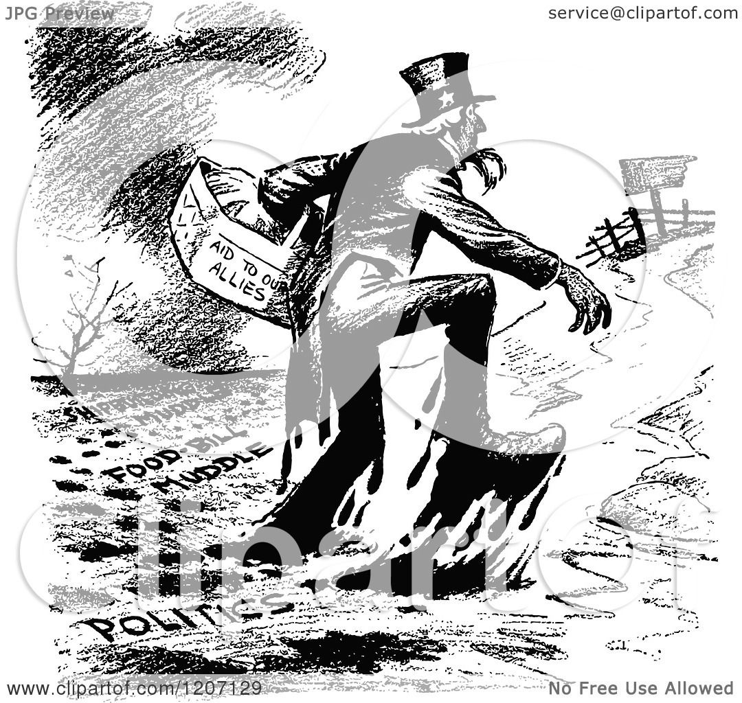 Uncle Sam Clipart Black And White Black And White Uncle Sam