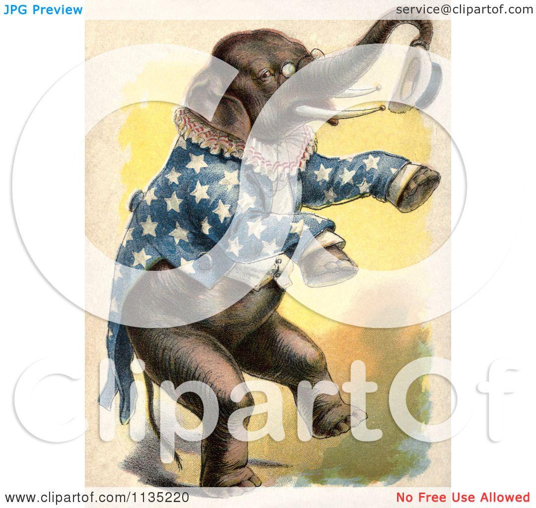 Vintage Circus Elephant Clipart Circus Clipartgif - Hot ...