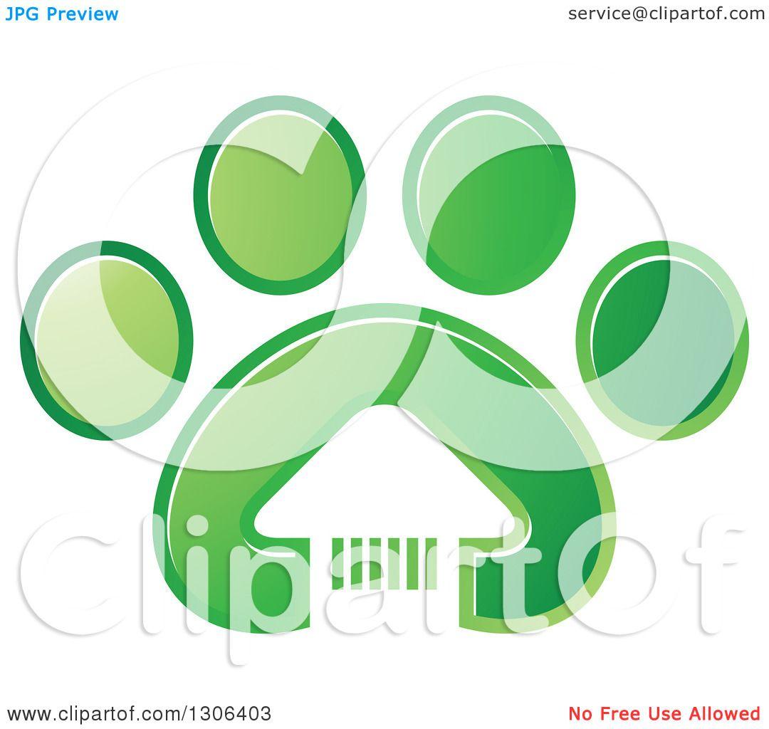 green dog clipart - photo #43