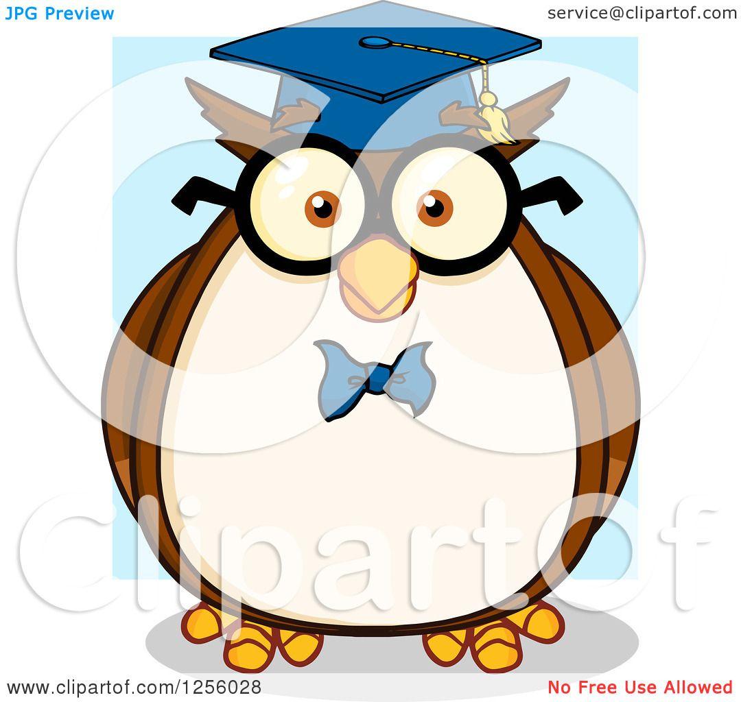 owl professor clipart - photo #15