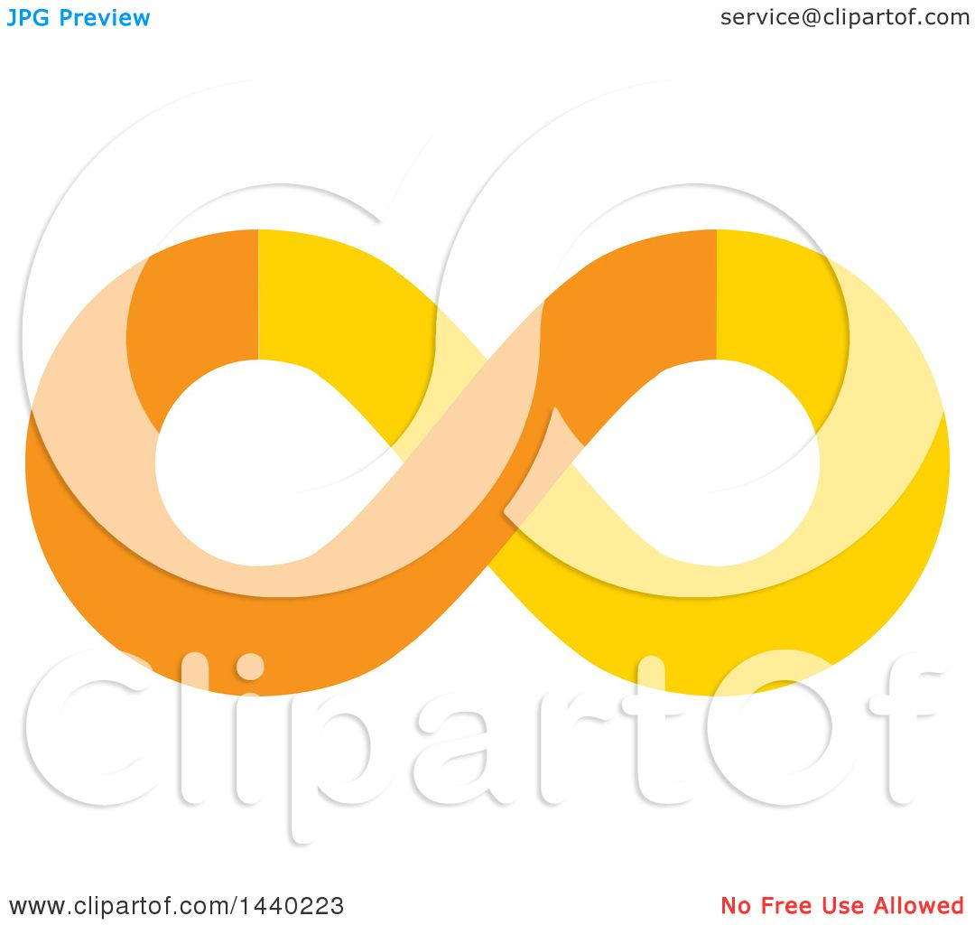 Clipart of a yellow and orange infinity symbol royalty free vector clipart of a yellow and orange infinity symbol royalty free vector illustration by colormagic buycottarizona Image collections
