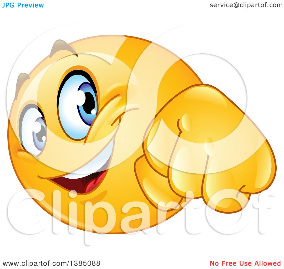 clipart of a yellow emoji smiley face emoticon doing a fist bump rh clipartof com Woman Thumbs Up Two Thumbs Up Face