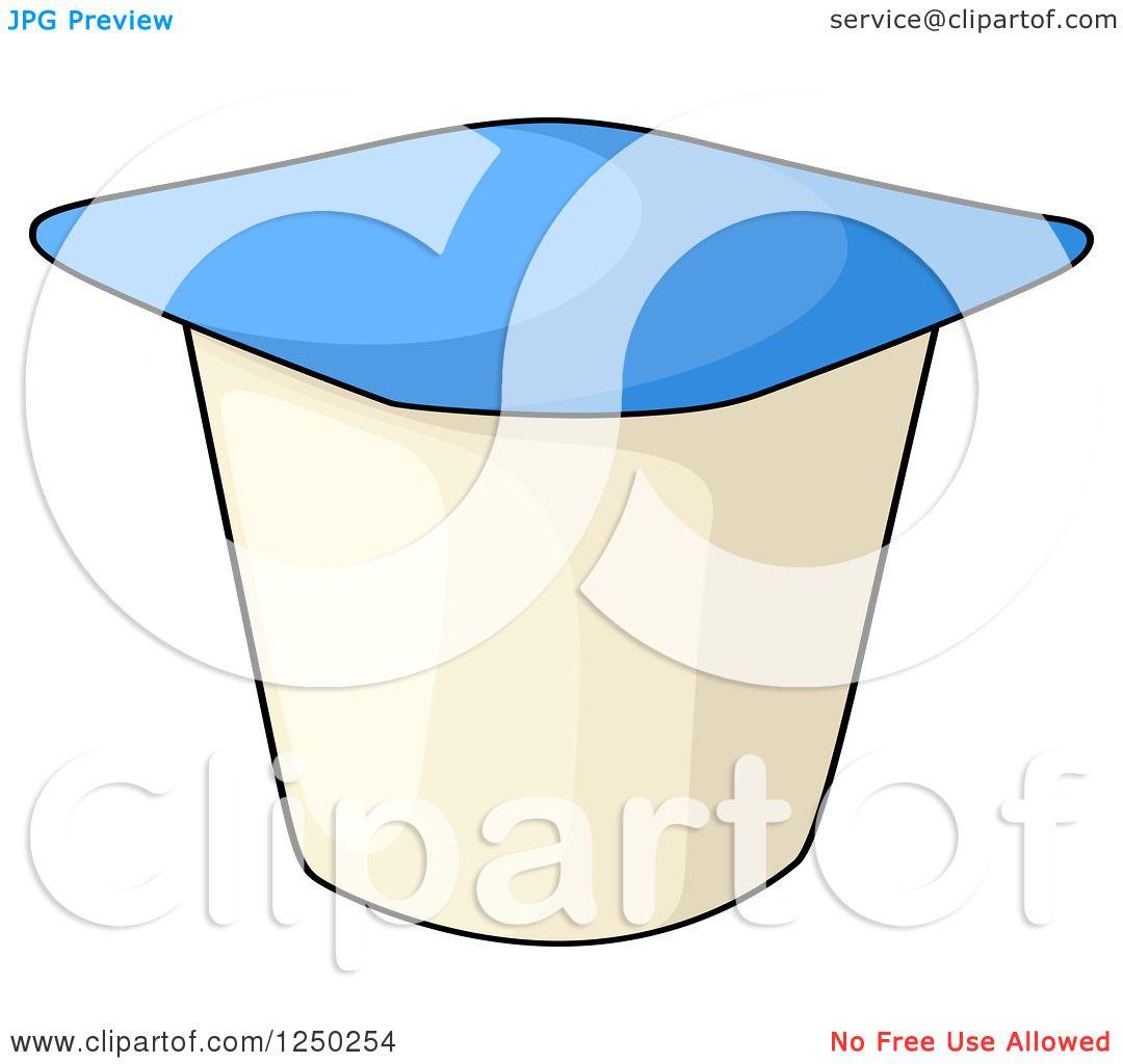 Yogurt Free Stock Photo A Yogurt Container Clip Art - Yogurt Cup Black And  White, Cliparts & Cartoons - Jing.fm